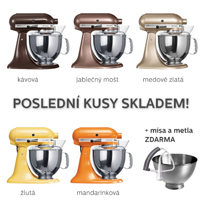 Doprodej robotůl KitchenAid 5KSM150PS