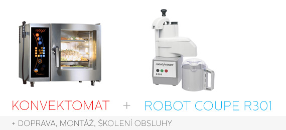 Akce konvektomat retigo plus krouha zeleniny robot coupe r301 zdarma - Robot coupe r301 occasion ...