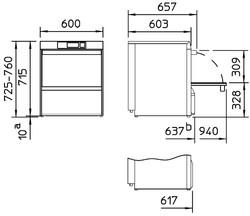 Rozměry myčky Winterhalter UC-M
